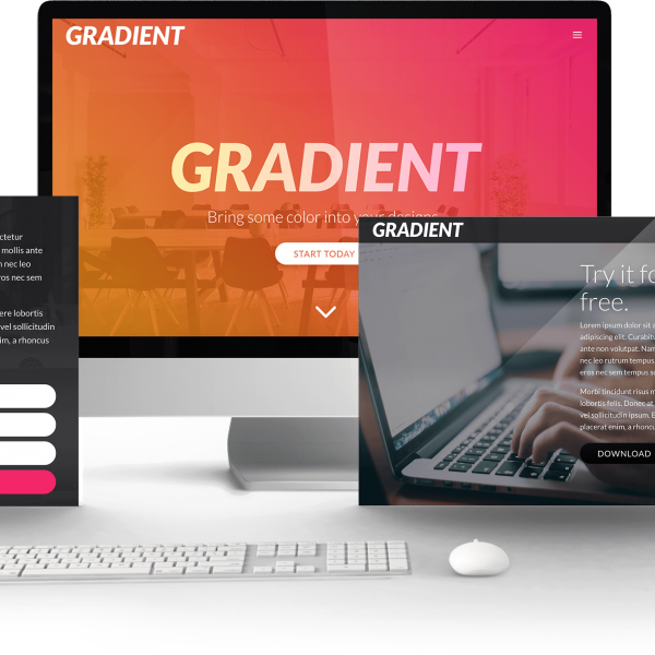 Gradient child Theme 1
