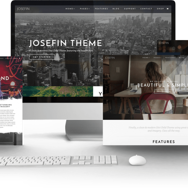 Josefin child Theme 1