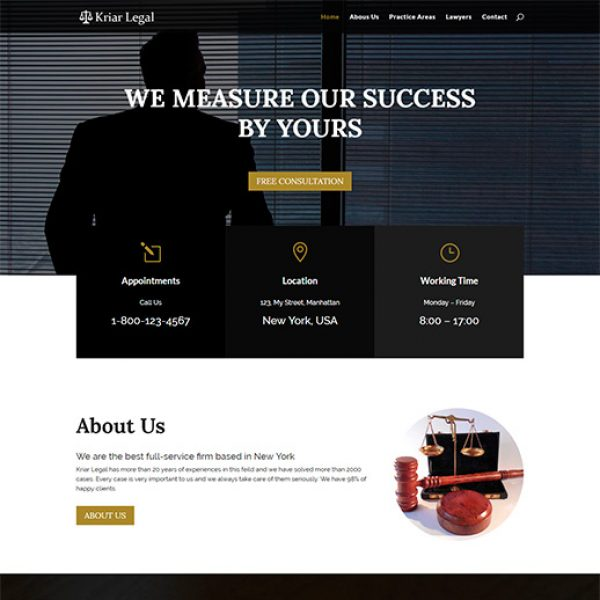 kriar-legal-divi-child-theme
