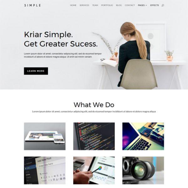kriar-simple-divi-child-theme