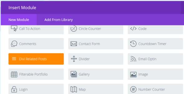 Divi Related Posts Module